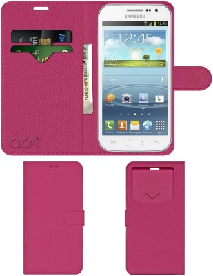ACM Flip Cover for Samsung Galaxy Win Grand Quattro I8552(Pink, Cases with Holder)