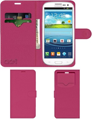ACM Flip Cover for Samsung Galaxy S3 Neo I9300i(Pink, Cases with Holder, Artificial Leather)