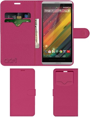 ACM Flip Cover for Hp Slate 6 Voicetab 2(Pink, Cases with Holder)
