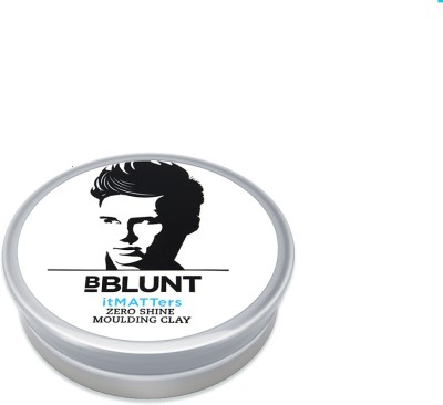 BBlunt itMATTers Zero Shine Moulding Clay With Beeswax Wax(40 g)