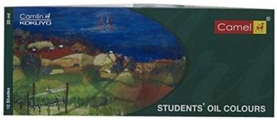 Camlin Kokuyo Student Oil Color Box - 20ml tubes, 12 Shades(Set of 1, Multicolor)
