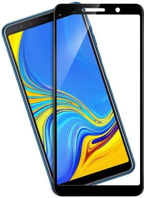 Knotyy Tempered Glass Guard for Samsung Galaxy A7 2018 Edition(Pack of 1)