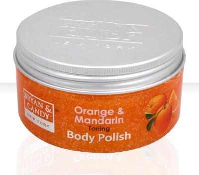 BRYAN & CANDY - NEW YORK Orange and Mandarin Toning Body Polish Scrub(200 g) 1