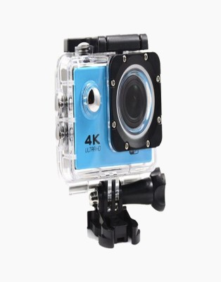 OWO F60R 4K Blue 4K WiFi Waterproof with Remote Control Sports and Adventure Cameras Sports and Action Camera(Blue 16 MP) 1