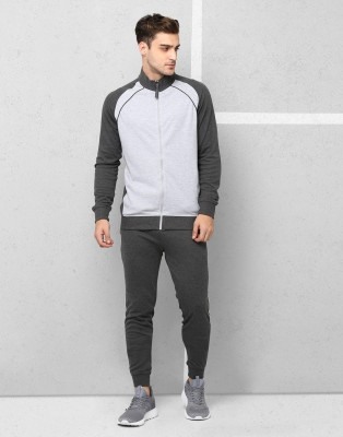 Metronaut Solid Men Track Suit