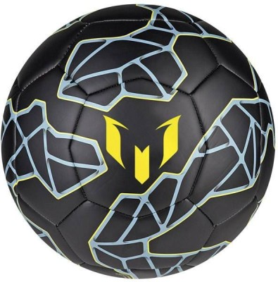 Matrix Messi Football   Size: 5 Pack of 1, Black