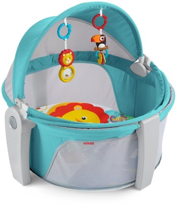 Fisher-Price On-The-Go Baby Dome Bouncer(Multicolor) at flipkart