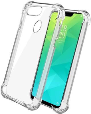Flipkart SmartBuy Back Cover for Realme 2(Transparent, Dual Protection, Flexible Case)