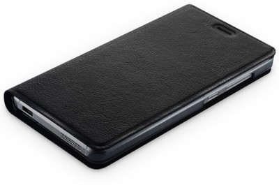 Highderabad Tech Flip Cover for SAMSUNG GALAXY J7 DUOS Black