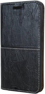 Carrywrap Flip Cover for SAMSUNG GALAXY J6 PLUS 2018(Alto Black, Artificial Leather, Plastic)