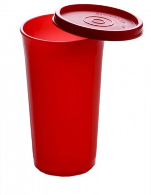 Signoraware Jumbo Tumbler Red   500 ml Polypropylene Fridge Container Red Signoraware Kitchen Containers