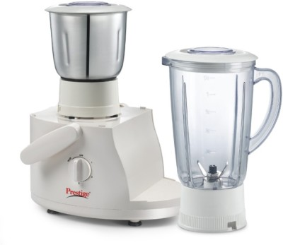 Prestige Champ 550 W Juicer Mixer Grinder White, 3 Jars