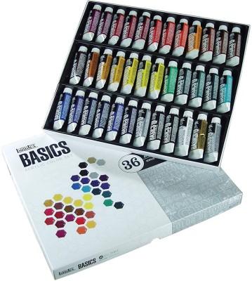 Liquitex BASICS Acrylic Paint Tube 36-Piece Set(Set of 36, Multicolor)
