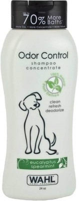 Wahl Odor Control Anti-parasitic, Anti-fungal Eucalptus Spearmint Dog Shampoo(710 ml)
