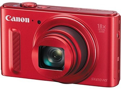 Canon PowerShot SX610 HS Point and Shoot Camera(20.2 MP, 18x Optical Zoom, 4.0x Digital Zoom, Red) 1