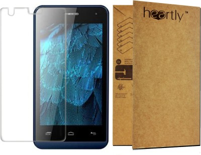 Heartly Tempered Glass Guard for Micromax Bolt Q325(Pack of 1)