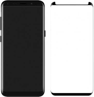 Midkart Edge To Edge Tempered Glass for Samsung Galaxy S9 Plus / S9+ Screen Protector with Accurate Touch & Case Friendly(Pack of 1)
