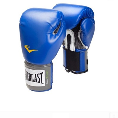 Everlast Pro Style Training Boxing Gloves(Blue, Black)