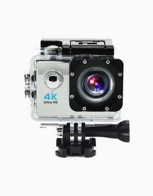 OWO G53R Silver 4K Ultra HD Waterproof Wifi Sports and Adventure Cameras Sports and Action Camera(Silver 12 MP) 1