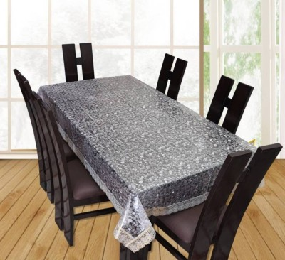 ZITIN Solid 6 Seater Table Cover(Multicolor, PVC) at flipkart