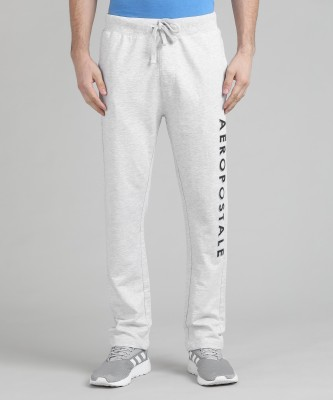 Aeropostale Solid Men's Grey Track Pants at flipkart