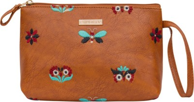 Chumbak Cosmetic Pouch Brown