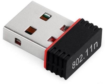 Tera Byte Mini 2.4Ghz Wireless Wifi Dongle 1000Mbps 802.11n USB Adapter(Black)