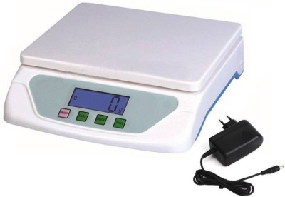 INDOSON ultra light_00259_ts-500 Weighing Scale(White)