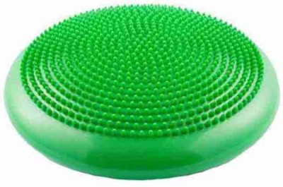FITGURU Inflated Stability Balance Cushion Pad(Green)For Exercise&Fitness Use in Home&Gym Wobble Board Fitness Balance Board(Green)