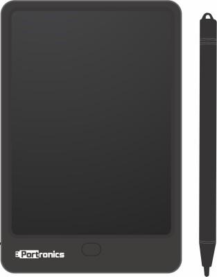 Portronics POR-942 RuffPad 12 Plus 12 Inch Re-Writable LCD Pad (Black)(Black)