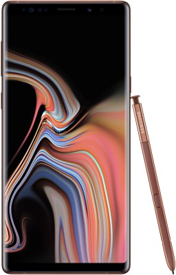 Samsung Galaxy Note 9 (Metallic Copper, 512 GB)(8 GB RAM) at flipkart