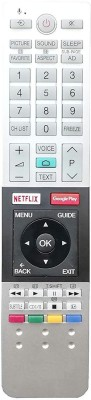 LipiWorld CT-8536 Toshiba Smart TV with Netflix GooglePlay Compatible for Toshiba TV Voice Remote Controller(White, Gray)