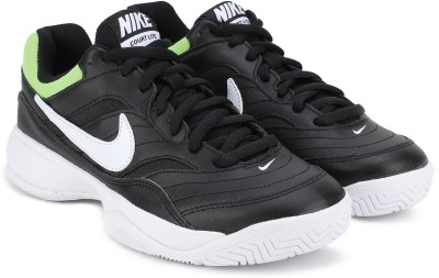 Nike COURT LITE Tennis Shoe For Men(Black) 1