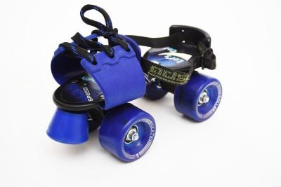 Jaspo TENACITY SKATES Quad Roller Skates - Size 1-6 UK(Blue) Flipkart