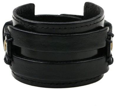 University Trendz Leather Bracelet