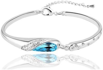 Nakabh Alloy Rhodium Bracelet Nakabh Bangles Bracelets   Armlets