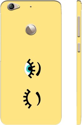 Picwik Back Cover for LeEco Le 1S Yellow, Waterproof