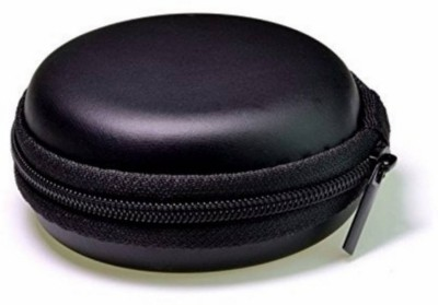 Nester Leather Zipper Headphone Case(BLACK)