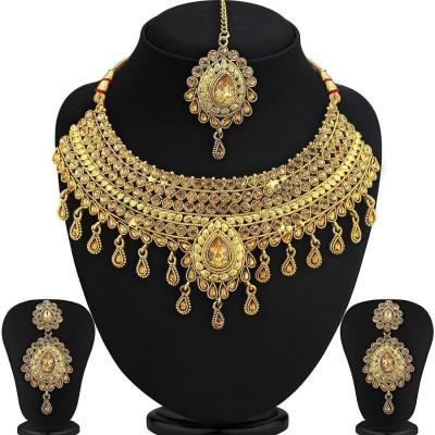 SukkhiAlloy Jewel Set Gold
