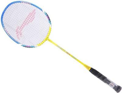 Li-Ning Smash xp 60 Yellow, Blue Strung Badminton Racquet(G4 -3.25 Inches, 85 g) Flipkart