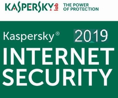 KASPERSKY Internet Security 2019 - 1 Pc / 1 Year / 1 User [1 Key+ 1 CD NO BOX PACK] (Latest Version)