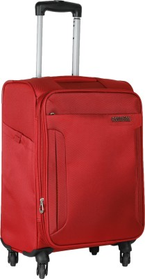 American Tourister Troy Expandable  Cabin Luggage - 22 inch(Red)