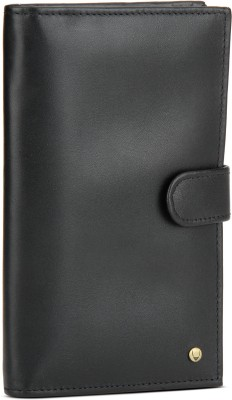 Hidesign Men Black Artificial Leather Wallet(14 Card Slots) at flipkart