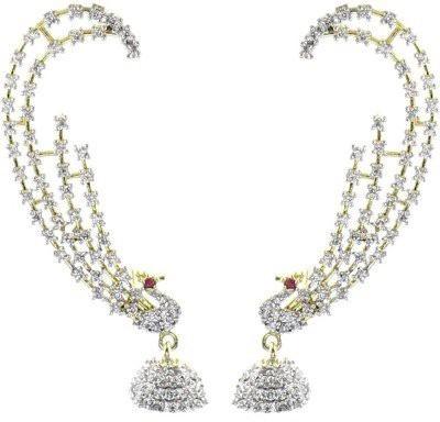 You Bella Stylish Fancy Party wear Jewellery earings Alloy Cuff Earring