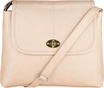 ARV Texture White Sling Bag at flipkart