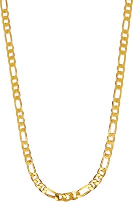 Shining Jewel 22K Golden Latest Gold-plated Plated Brass Chain
