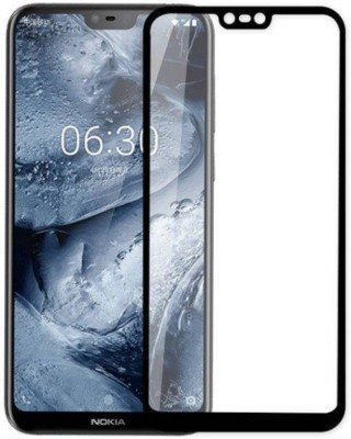 Chevron Tempered Glass Guard for Nokia 5.1(Pack of 1)