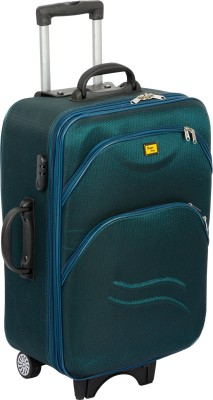 United UTB H 2419GRN24 Expandable Check in Luggage   24 inch Green