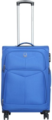 United Colors of Benetton Soft Luggage Strolly Check in Luggage   27 inch United Colors of Benetton Suitcases