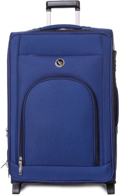 emblem METRO 24INCH BLUE Expandable Check in Luggage   24 inch emblem Suitcases